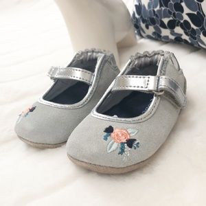ROBEEZ (3-6 months) ballet baby girl shoes